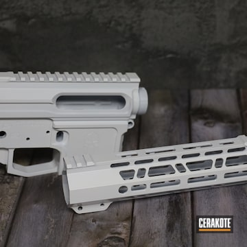 Ar Builders Set Cerakoted Using Stormtrooper White