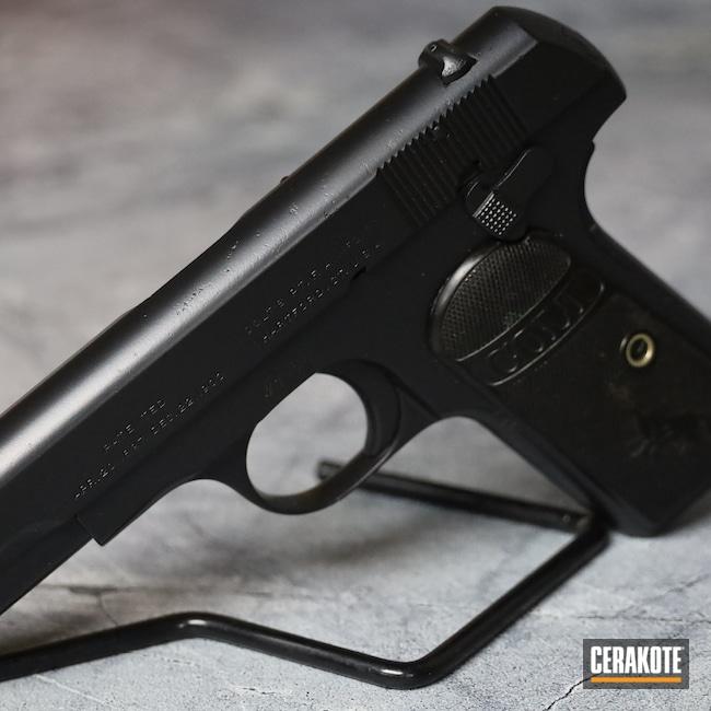 Cerakoted: S.H.O.T,BLACKOUT E-100,.380,Colt,Pistol,Hammerless,Handgun