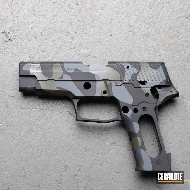Cerakoted: S.H.O.T,Armor Black H-190,Sig Sauer,SIG™ DARK GREY H-210,P226,Medford,Handgun,9mm,Sniper Grey H-234,Custom Shop,Mil Spec O.D. Green H-240,black flag armory,Southern Oregon