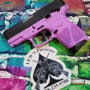 Taurus Pistol Cerakoted Using Purplexed