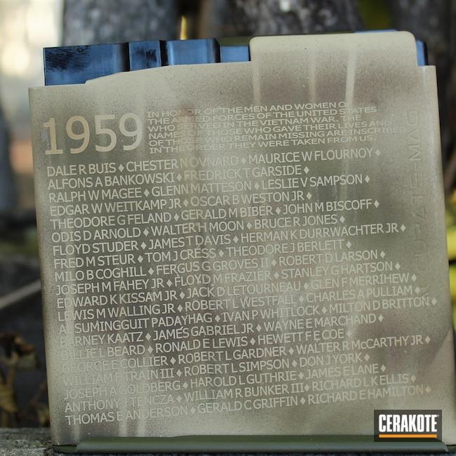Cerakoted: S.H.O.T,Ruger Precision,Mil Spec O.D. Green H-240,.338,Camo,MAGPUL® FDE C-267,Armor Black H-190,Custom Camo,Vietnam
