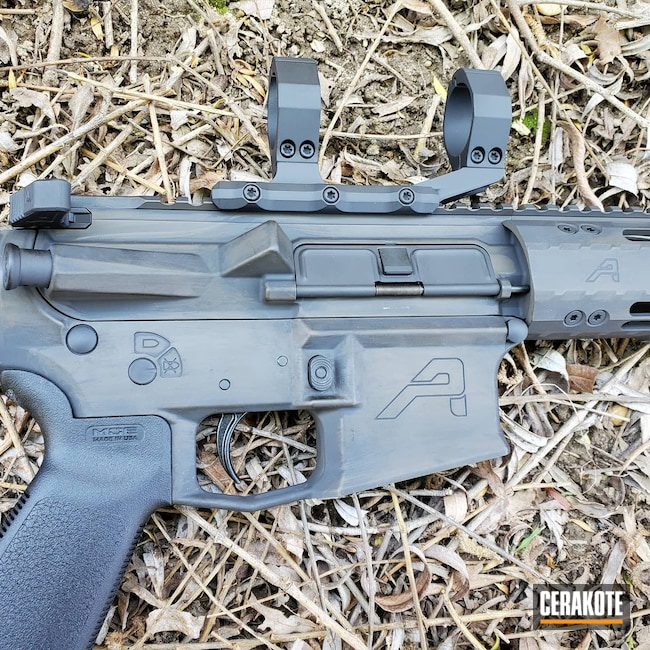 Cerakoted: S.H.O.T,Aero Precision,Rifle,Rifles,m4e1,Graphite Black H-146,Patriot Brown H-226,Tactical Rifle,.223,.223 Wylde