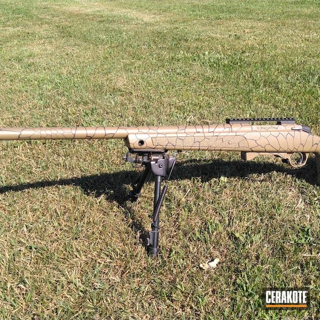 Cerakoted: S.H.O.T,Bolt Action Rifle,Bolt Gun,Coyote Tan H-235,Kryptek,Bolt Action,Bergara,Cobalt H-112
