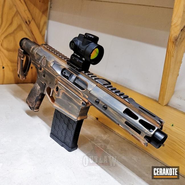 Cerakoted: S.H.O.T,Sniper Grey H-234,COPPER H-347,.308
