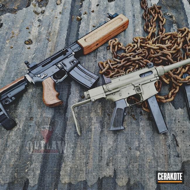 Cerakoted: S.H.O.T,9mm,COBALT KINETICS™ GREEN H-296,AR9