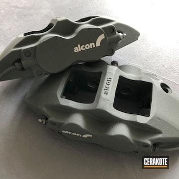 Brake Calipers Cerakoted Using Sig™ Dark Grey