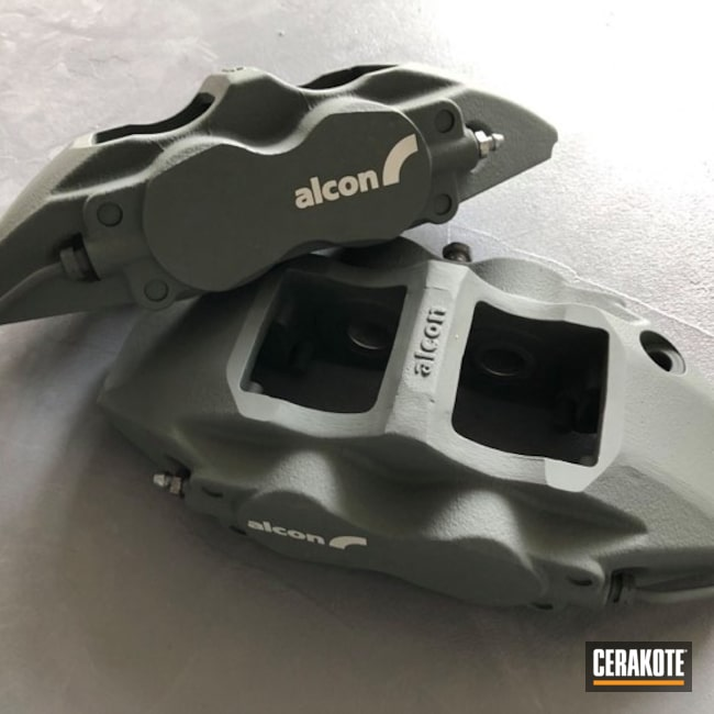 Cerakoted: Brake Calipers,Automotive,SIG™ DARK GREY H-210
