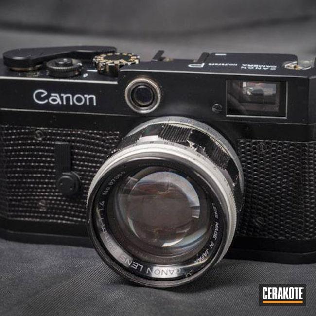 Cerakoted: Camera,Graphite Black H-146,Canon,Vintage