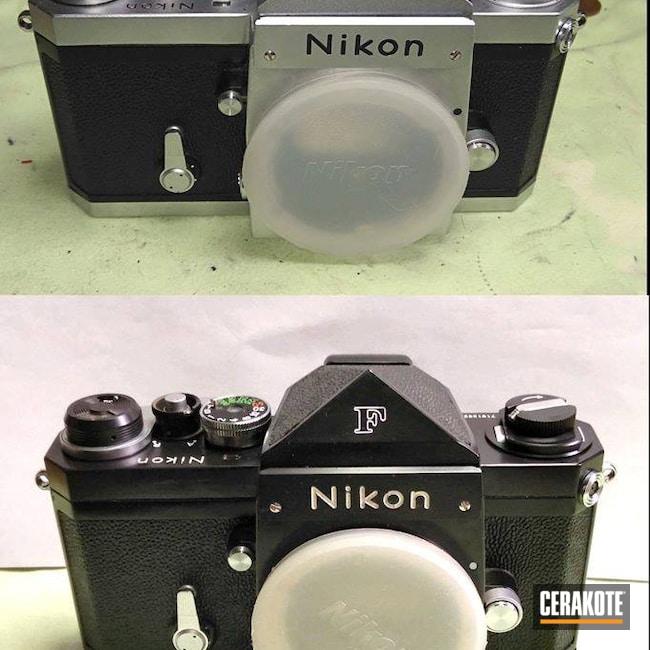 Cerakoted: Camera,Gloss Black H-109,Vintage,Nikon