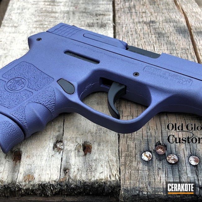 Cerakoted: S.H.O.T,BG380,Smith & Wesson,CRUSHED ORCHID H-314,.380 ACP