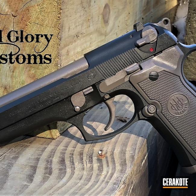 Cerakoted: S.H.O.T,9mm,MAGPUL® FLAT DARK EARTH H-267,MagPul,Beretta,92FS,MAGPUL® O.D. GREEN H-232