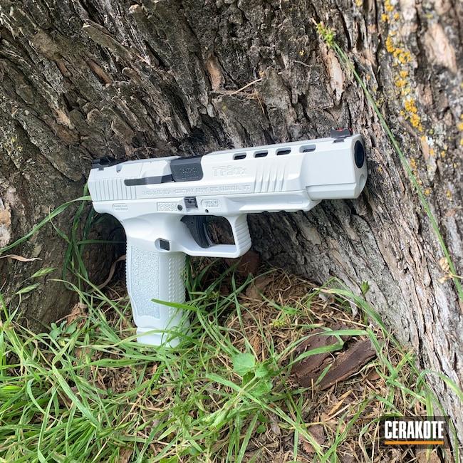Cerakoted: S.H.O.T,9mm,Canik,Stormtrooper White H-297,Canik TP9SFX