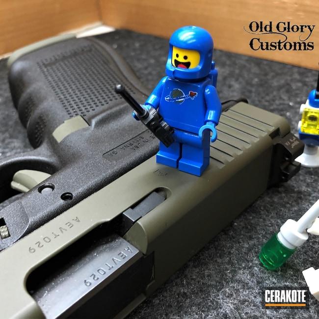 Cerakoted: S.H.O.T,Glock 21,Legos,Glock,O.D. Green H-236,45 ACP