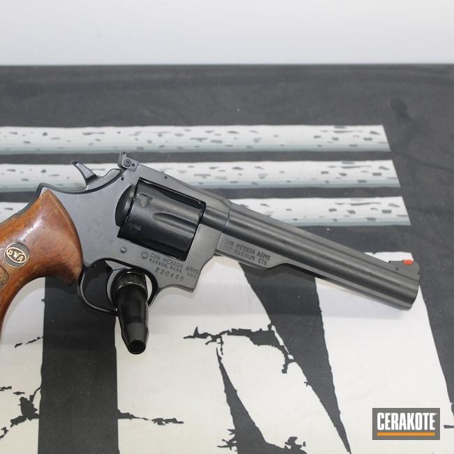 Cerakoted: S.H.O.T,.357,Blueing,.357 Magnum,Socom Blue H-245,Clean,Classic,Revolver,Wheel Gun,Old School,15,Dan Wesson