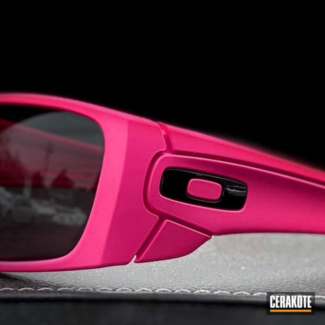 Cerakoted: Sunglasses,Oakley,SIG™ PINK H-224,Single Shade