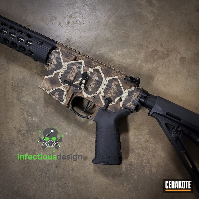 Cerakoted: S.H.O.T,Graphite Black H-146,Diamondback,BENELLI® SAND H-143,GLOCK® FDE H-261,AR-15