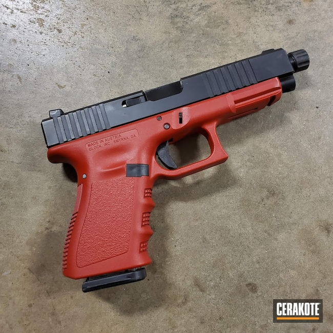 Cerakoted: S.H.O.T,RUBY RED H-306,Pistol,Glock,Red
