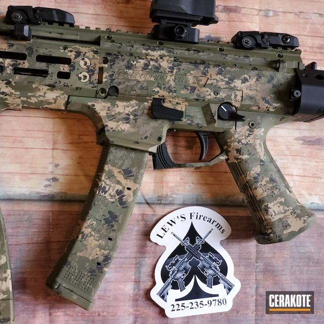 Cerakoted: S.H.O.T,9mm,MAGPUL® FLAT DARK EARTH H-267,CZ,MAGPUL® O.D. GREEN H-232,Chocolate Brown H-258