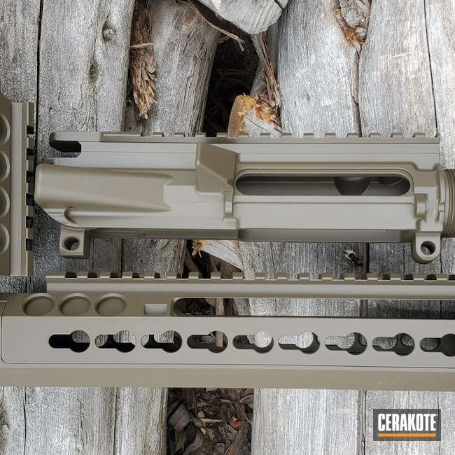 Cerakoted: S.H.O.T,Patriot Brown H-226,Adcor Defense,Tactical Rifle,.223,.223 Wylde,5.56