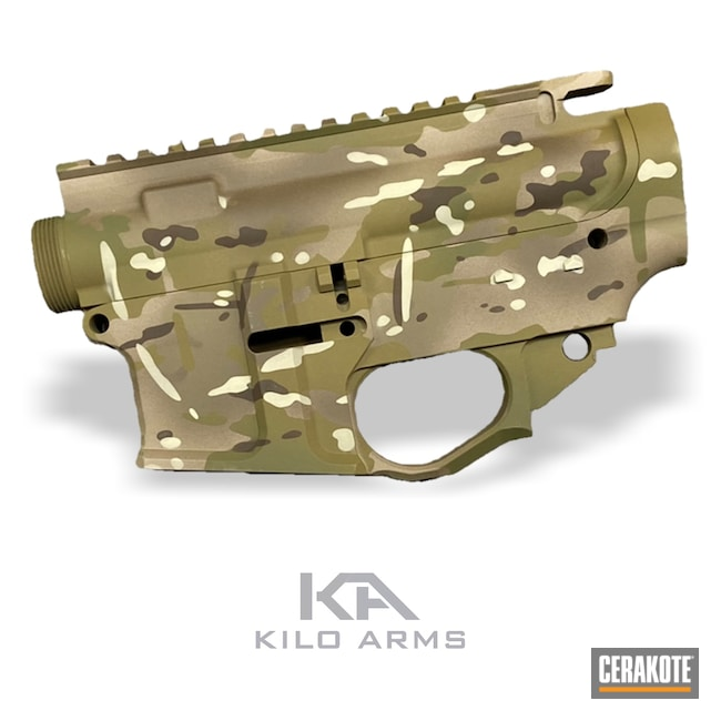 Cerakoted: S.H.O.T,Rifle,MULTICAM® OLIVE H-344,MULTICAM® PALE GREEN H-339,80%,MultiCam,Simpson Helmet,Desert Sand H-199,Camo,BENELLI® SAND H-143,Camouflage,GLOCK® FDE H-261,MULTICAM® DARK GREEN H-341,AR-15