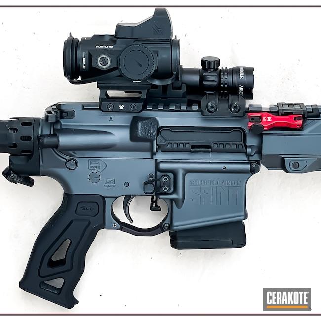 Cerakoted: S.H.O.T,Sniper Grey H-234,.223,.223 Wylde,AR-15