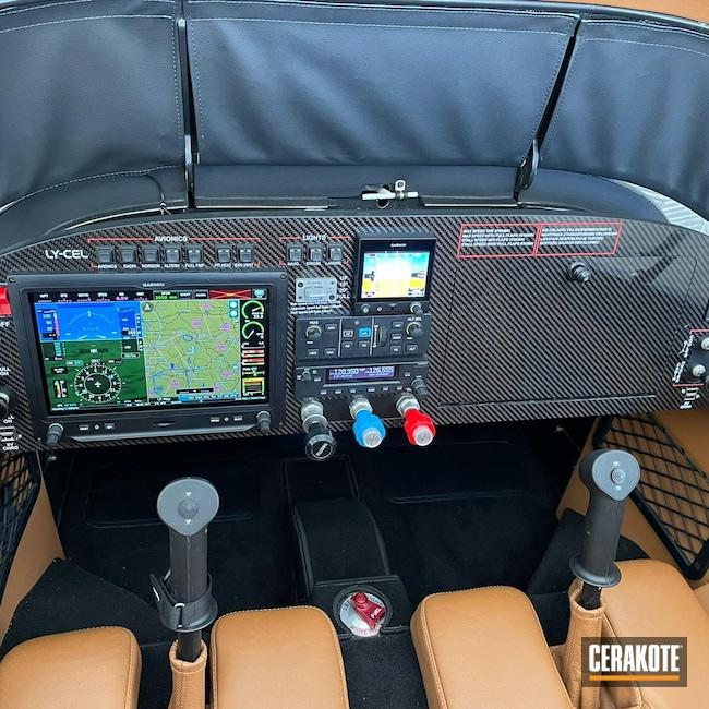 Cerakoted: Bright White H-140,USMC Red H-167,Automotive,Cockpit,Aerospace and Aviation