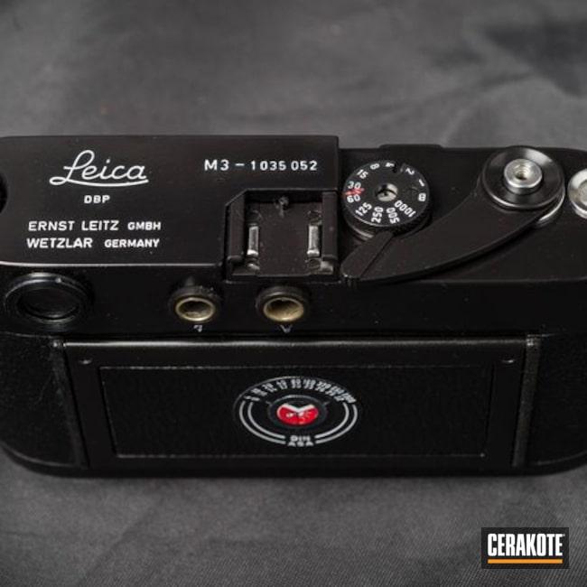 Cerakoted: Camera,Refurbished,Gloss Black H-109,Leica,Stormtrooper White H-297,Vintage,Overhaul