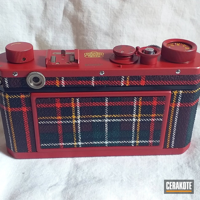 Cerakoted: Camera,Electric Yellow H-166,HABANERO RED H-318,Vintage,Nikon