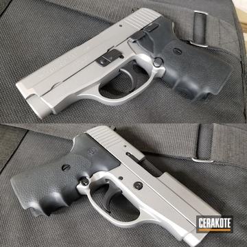 Sig Sauer P239 Pistol Cerakoted Using Savage® Stainless