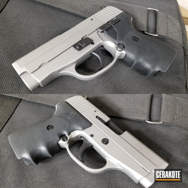 Cerakoted: S.H.O.T,Sig Sauer P239,SAVAGE® STAINLESS H-150,Refinished