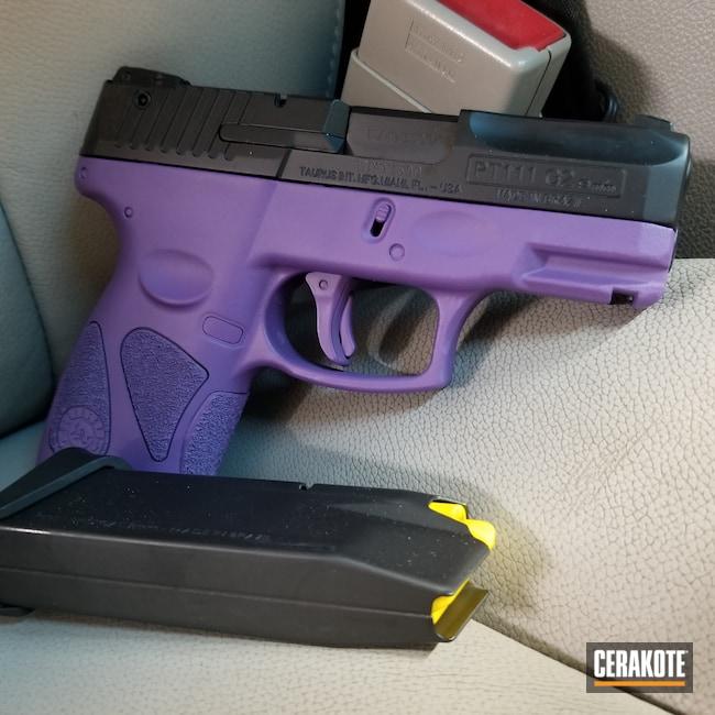 Cerakoted: S.H.O.T,Taurus Millenium G2,Bright Purple H-217,Taurus
