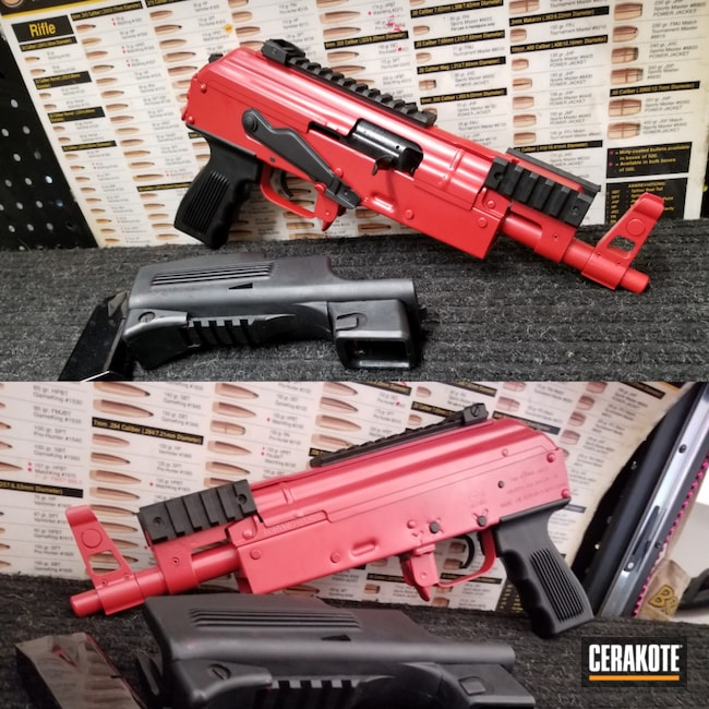 Cerakoted: S.H.O.T,FIREHOUSE RED H-216,Certified Applicator,Refinished