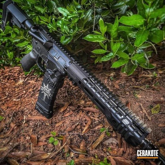 Cerakoted: S.H.O.T,AR Pistol,SLR,SLR Rifleworks,Armor Black H-190