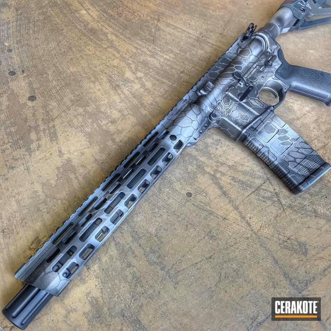 Cerakoted: S.H.O.T,Titanium E-250,Kryptek,Precision Tactical,Satin Aluminum H-151,Cobalt H-112,Custom AR
