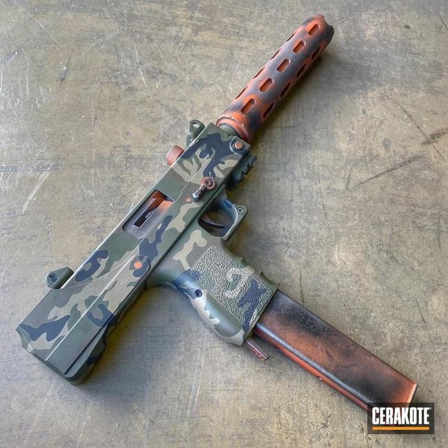 Cerakoted: S.H.O.T,COPPER H-347,Custom,Woodland Camo,Camo,Armor Black H-190,Pistol,O.D. Green H-236,Flat Dark Earth H-265