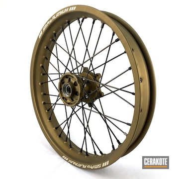 Smpro Wheels Cerakoted Using Burnt Bronze