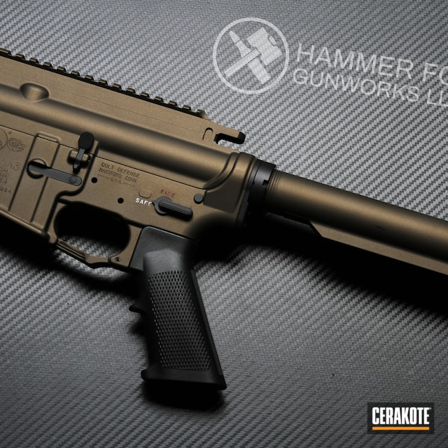 Cerakoted: S.H.O.T,Heckler & Koch,Midnight Bronze H-294,HK416