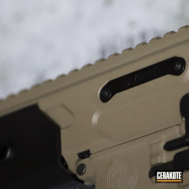 Cerakoted: S.H.O.T,MCX,MAGPUL® FLAT DARK EARTH H-267,Graphite Black H-146,Pistol,Sig Sauer,Sig,.223,5.56