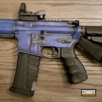 Anderson Manufacturing Ar Cerakoted Using Crushed Orchid
