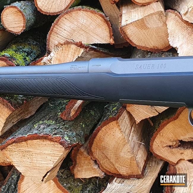 Cerakoted: S.H.O.T,Bolt Action Rifle,Tungsten H-237,Sig Sauer,.308