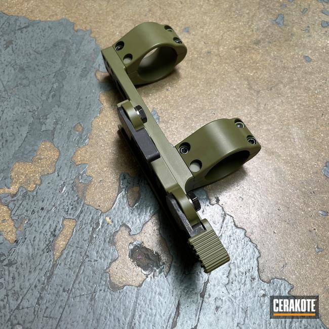 Cerakoted: S.H.O.T,Rifle,Scope Mount,Sons of Liberty Gun Works,Armor Black H-190,Tactical Rifle,Noveske Bazooka Green H-189,AR-15
