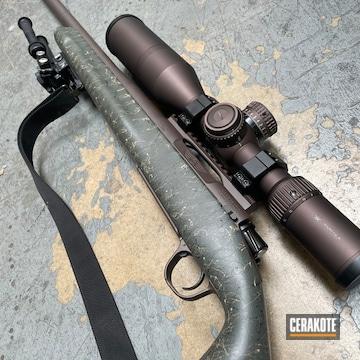 Vortex Scope And Rifle Barrel Cerakoted Using Vortex® Bronze