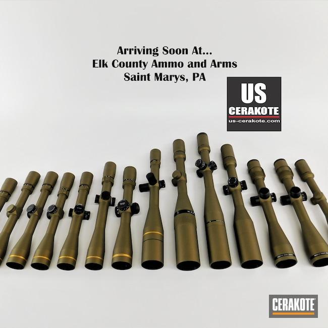 Cerakoted: S.H.O.T,VX-6,Rifle Scope,Crossfire,vx-3i,Vortex,Fullfield,Scope,Burris Scope,Scopes,Vortex Scope,Optic,Leupold Scope,Burnt Bronze H-148,Burris,Viper,VX-5HD,Leupold,Optics
