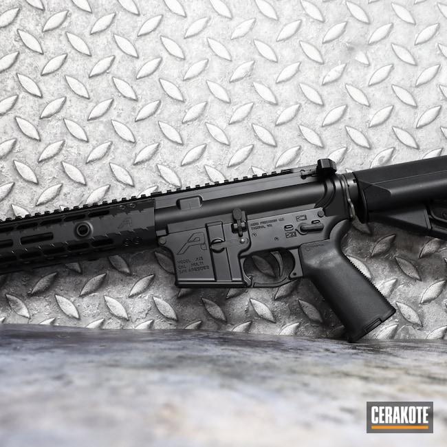 Cerakoted: S.H.O.T,Aero Precision,Rifle,X-15,Graphite Black H-146,AR,.223,5.56,AR-15