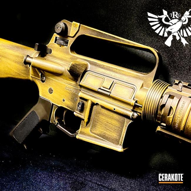 Cerakoted: S.H.O.T,Clone,M16,Coyote Tan H-235,m4,Graphite Black H-146,Bronze,Burnt Bronze,Army,6.8