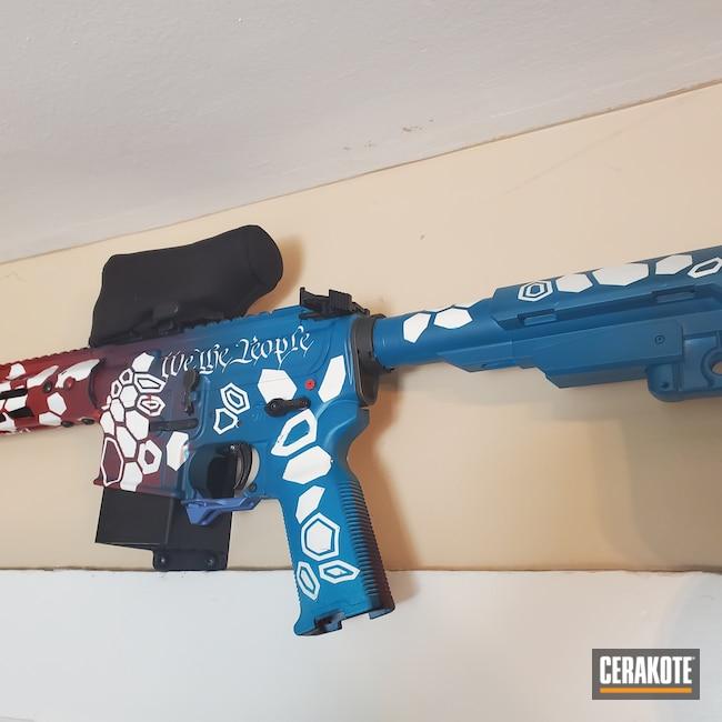 Cerakoted: S.H.O.T,Kryptek,AR Pistol,MagPul,Anderson,Stormtrooper White H-297,Sightmark,Crimson H-221,.223 Wylde,CMMG,SB Tactical,Sky Blue H-169