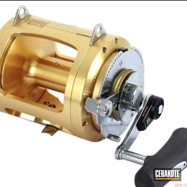 Cerakoted: 80W,Fishing,BLACKOUT E-100,Saltwater Fishing Reel,Fishing Reel