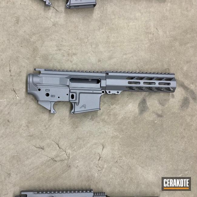 Cerakoted: S.H.O.T,Aero Precision,Titanium E-250,AR Pistol,Truck Gun