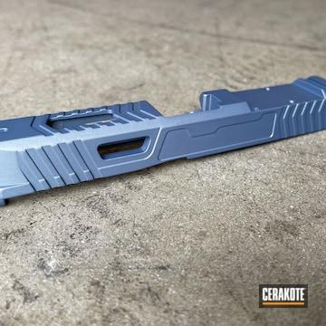 Glock 19 Slide Cerakoted Using Northern Lights