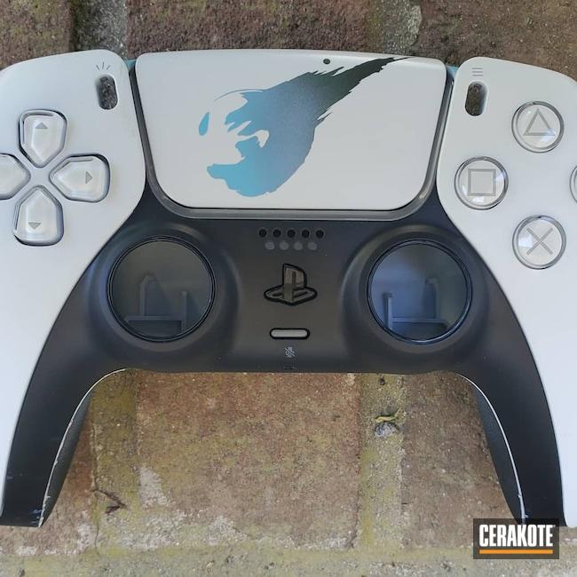 Cerakoted: Highland Green H-200,Video Game,playstation,controller,PlayStation 5,Armor Black H-190,BLUE RASPBERRY H-329,PS4,POLAR BLUE H-326